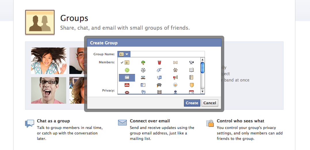 how to change a group picture on facebook