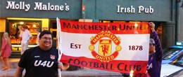 Storming to their 19th title – Manchester United