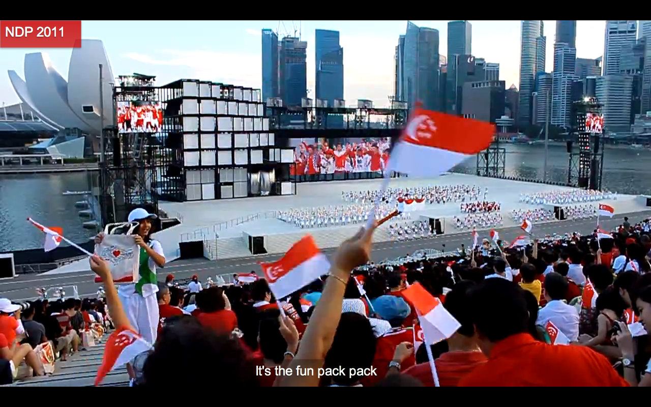 The Fun Pack Song, which drew ire and disdain from netizens both in Singapore and abroad.