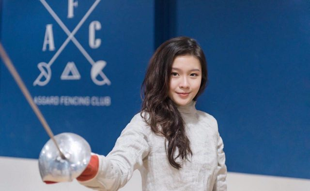 IMG 1 - Photo credit - Asgard Fencing_Joyce Ng National Fencer