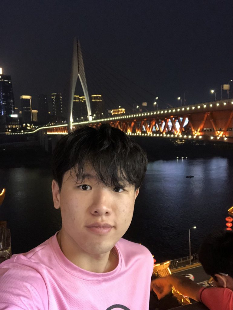 Harry Mao, 21, Electrical Power Engineering student from Singapore Institute of Technology.