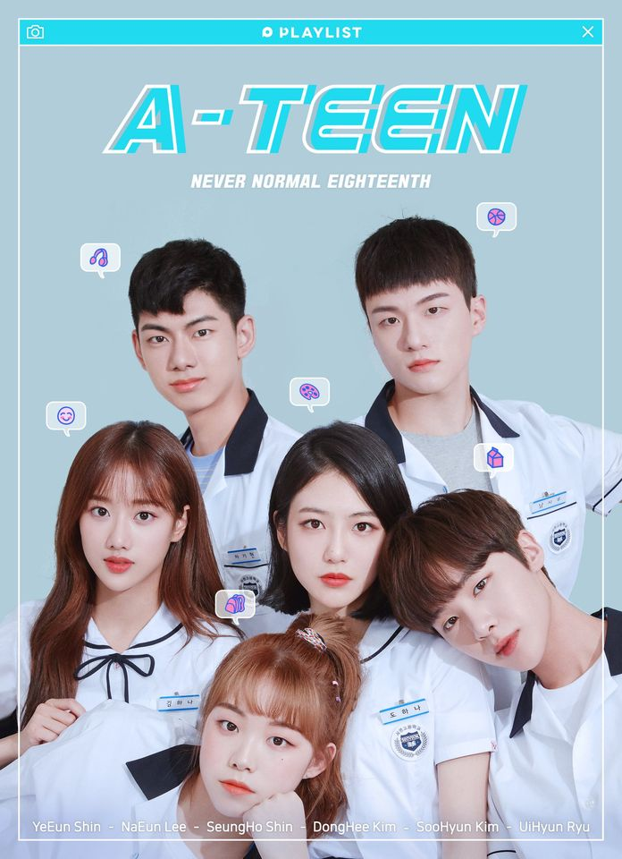a-teen k-drama poster